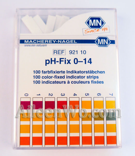 Litmus Paper/pH Test Paper/pH Strips (0-14). Made in Germany (High Quality)