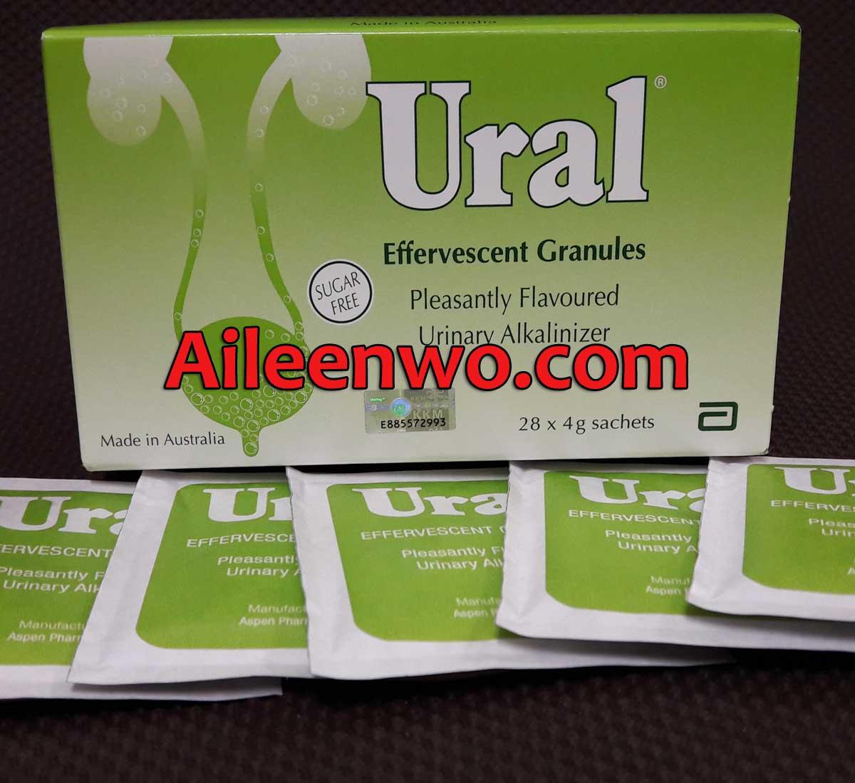 Ural Effervescent Granules 28 sachets